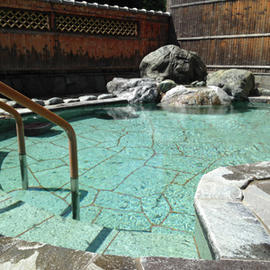 湯川温泉 河童の湯