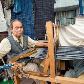 機織り体験-あざみ工房