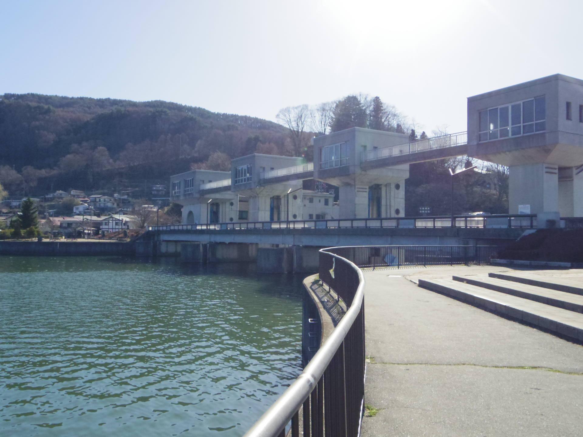 釜口水門 | 諏訪地方観光連盟