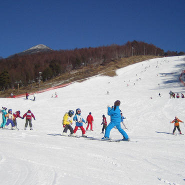 初心者にぴったりのスキー場 <br>富士見高原スキー場