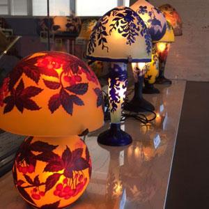 アール・ヌーヴォーのガラス工芸にうっとり  <br>北澤美術館