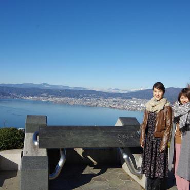 諏訪を代表する眺望! 諏訪湖を見下ろす絶景スポット<br>立石公園