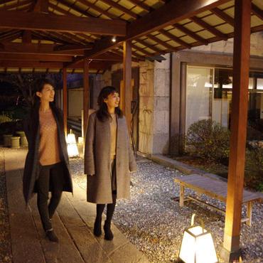 諏訪の高級温泉旅館<br>ホテル鷺乃湯